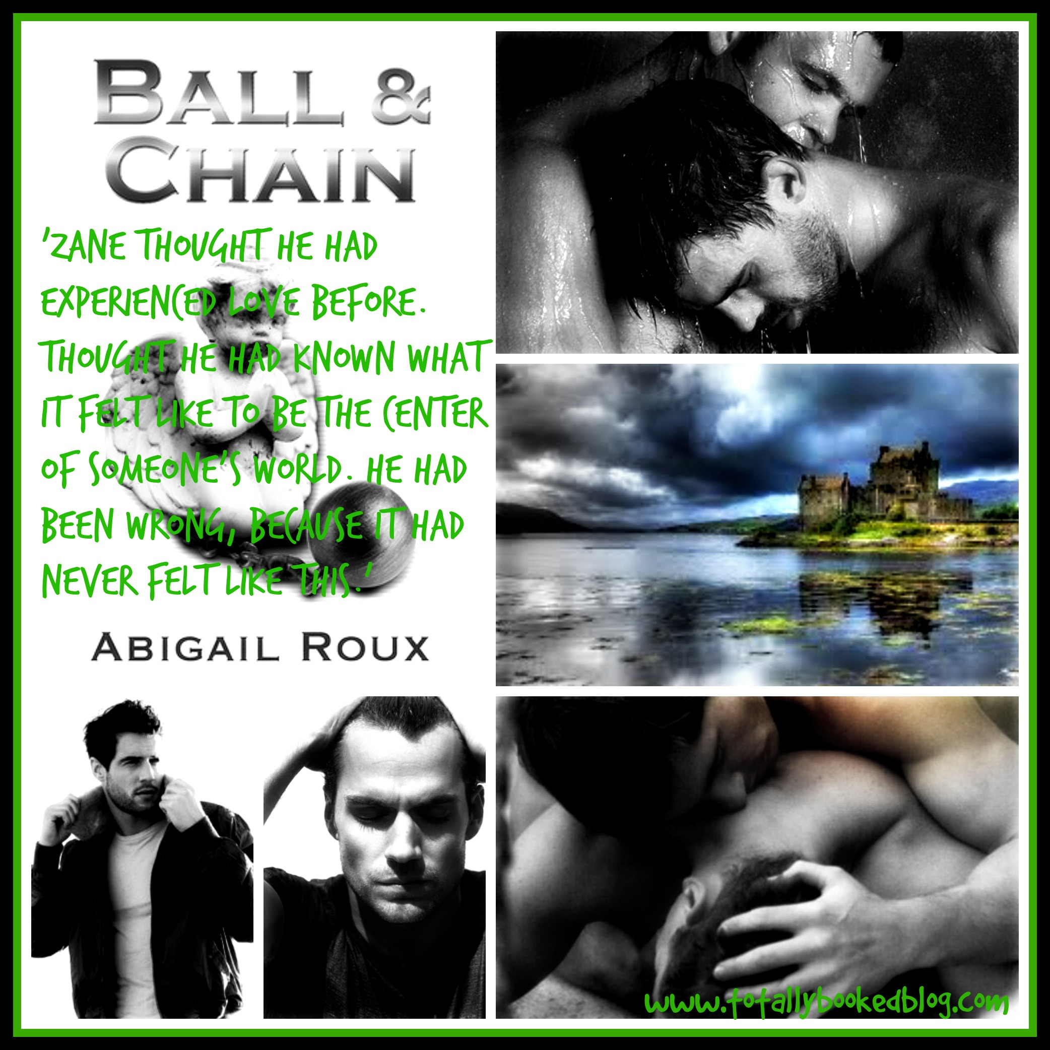 ball and chain collage