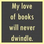 my love of books