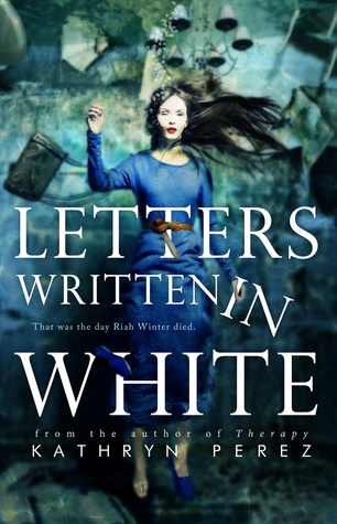letters written in white