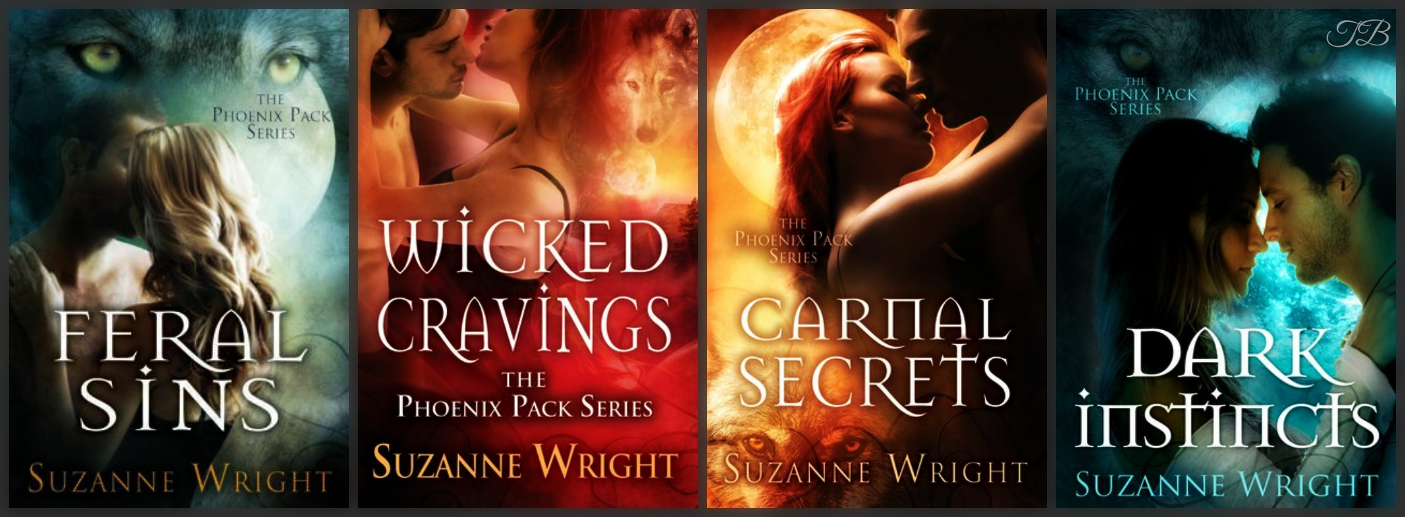 FERAL SINS (The Phoenix Pack Book One) by Suzanne Wright