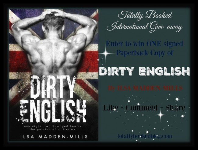 Dirty English Giveaway